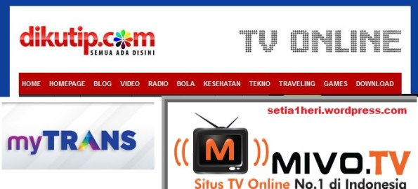 tv online di indonesia