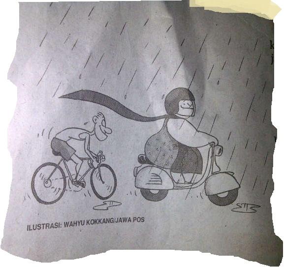 Tips Berkendara Ketika Hujan Bagi Biker dan Tata krama nya