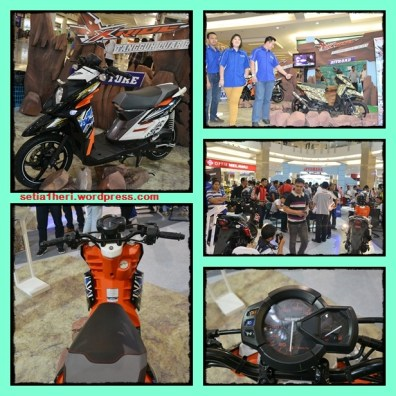 launching x ride di surabaya