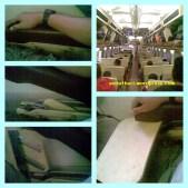 meja makan di kereta eksekutif argo bromo anggrek pagi