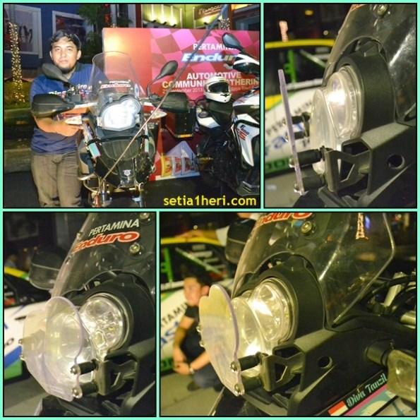 lamp guard motor enduro BMW 650