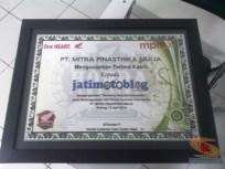 piagam jatimotoblog dari pt mpm motor surabaya