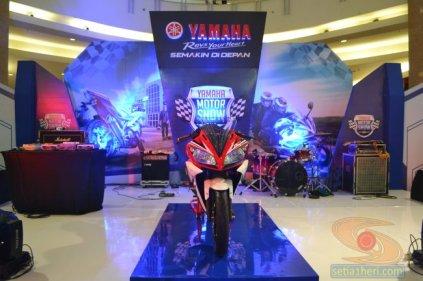yamaha motor show 2014 di Surabaya