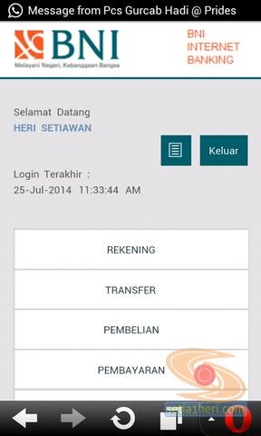 BNI Internet Banking versi mobile atau gadget (3)