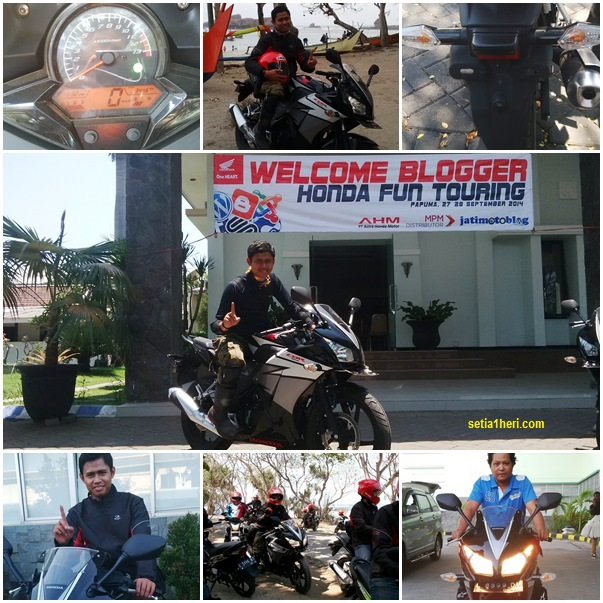 Tesr ride honda All New CBR150R 2014 ke papuma 2014
