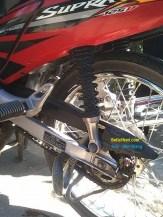 ular masuk di gir motor supra x 125