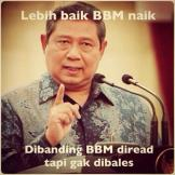 meme BBM naik presiden SBY