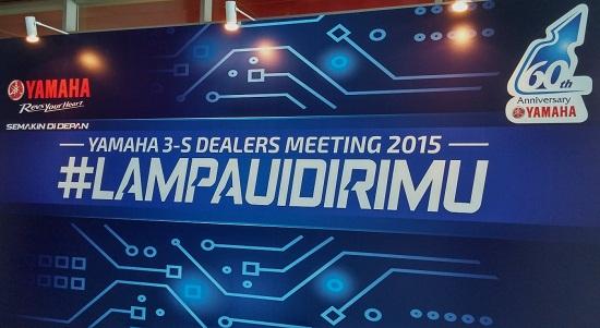 #Lampaui Dirimu - Spirit Yamaha Indonesia untuk tahun 2015 dalam suasana 60 tahun Yamaha Motor Company (YMC) -