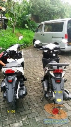 perbandingan Honda Vario 125 dan Vario 150 tahun 2015 (2)