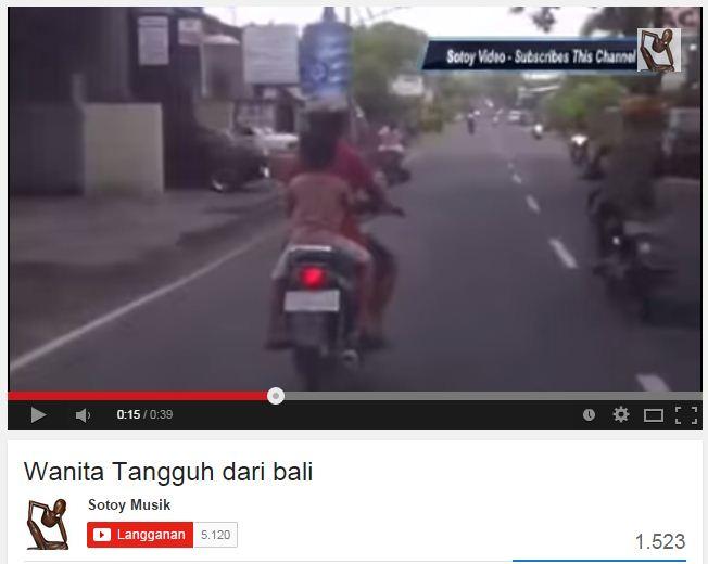 Wanita Tangguh dari Bali
