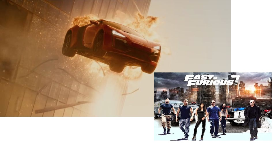 adegan Fast and Furious 7 di Dubai