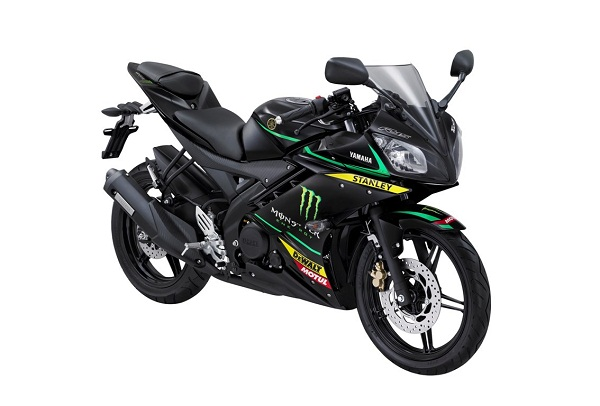 YZF-R15 Monster Yamaha Tech 3 Livery