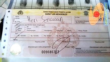 biaya SIM A