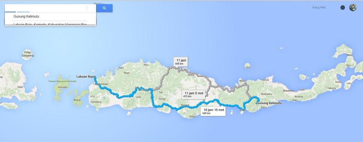 labuan bajo - gunung kelimutu Nusa Tenggara Timur