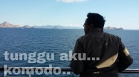 menuju pulau komodo