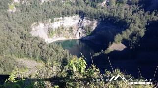 panorama danau kawah Kelimutu