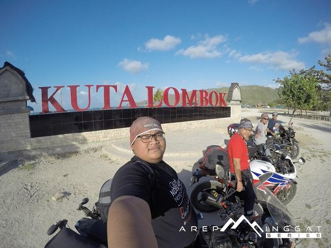 Pantai Kuta Lombok tahun 2015