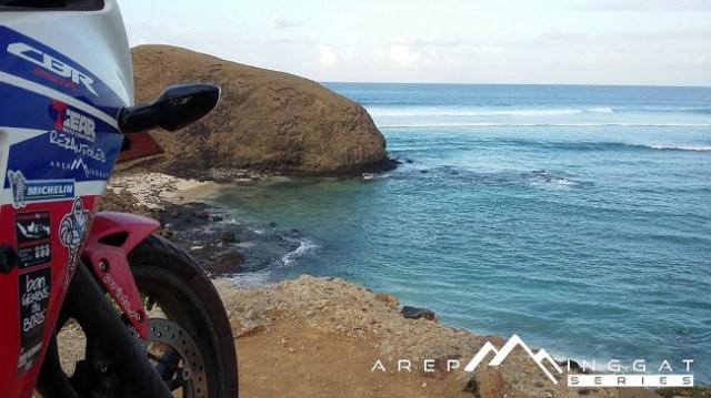 pinggir pantai di Lombok