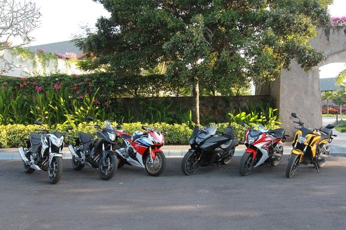 Jajaran Big Bike Honda tahun 2015