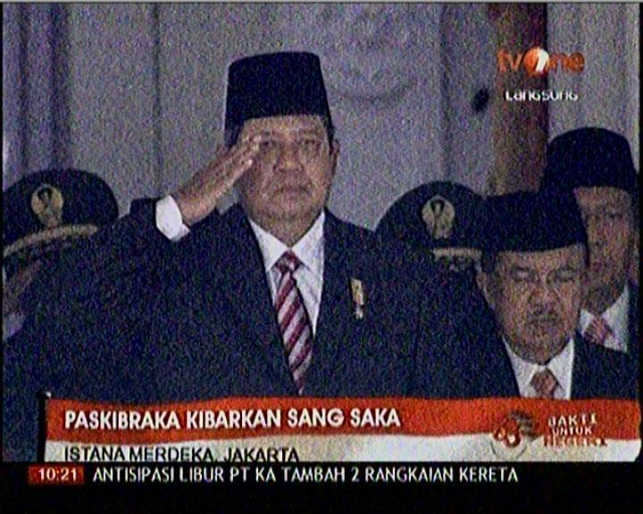 aksi pak jeka tidak hormat bendera di era SBY