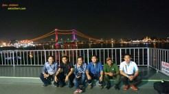blogger numpang di riverside restaurant palembang