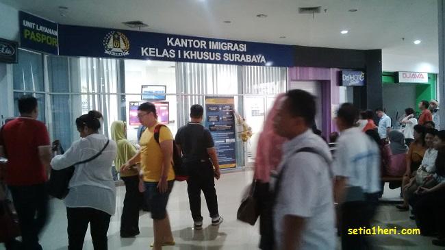 Kantor Imigrasi Kelas I Khusus Surabaya ULP Maspion Squre
