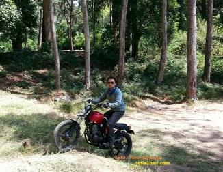bersama tiger jap style di Alas Mojosemi GUnung Lawu