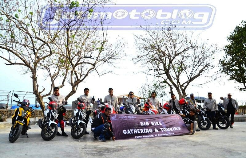 honda big bike turing di camplong madura 2015