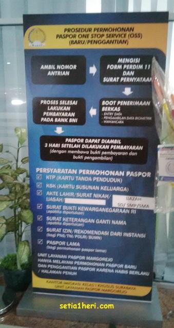 prosedur pelayanan paspor di ULP Surabaya