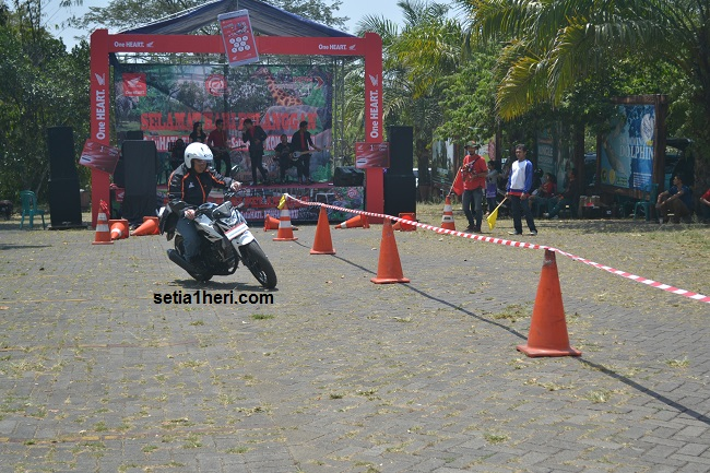 test ride All New CB150R