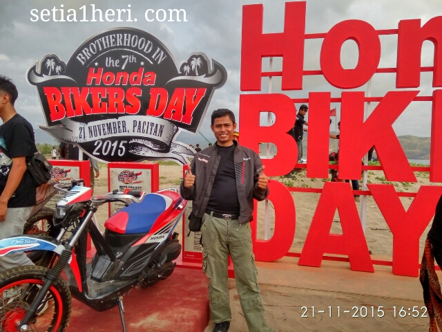 KHS di Honda Bikers Day 2015 Pacitan