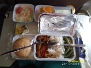 menu makan di pesawat gaeuda jakarta kuala lumpur tahun 2015