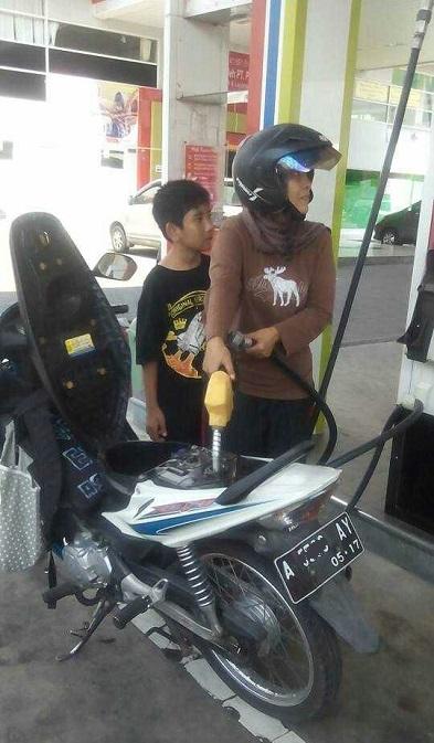 SPBU self service di dekat stasiun lempuyangan jogjakarta (1)