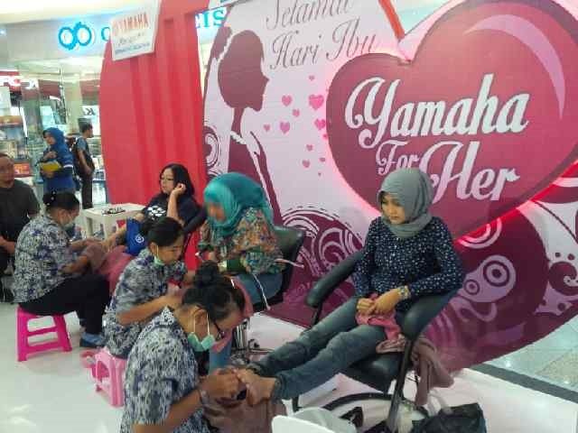 Yamaha For Her beauty treatment di mall (2)