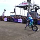 aksi motor Trial Yamaha (1)