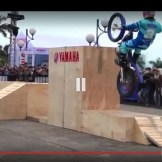aksi motor Trial Yamaha (3)