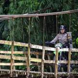 foto epik polwan mensukseskan pilkada di sumatra selatan tahun 2015 (7)