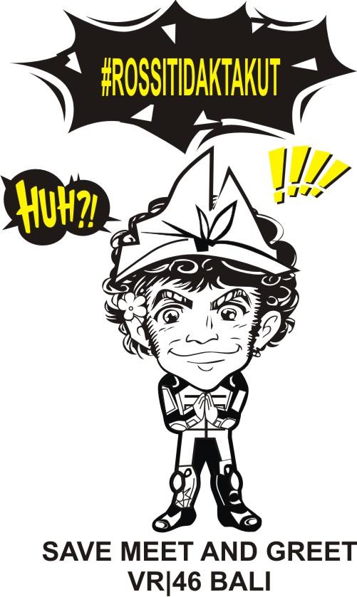 Valentino Rossi tidak takut ke Bali Tahun_2016