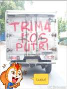 kumpulan tulisan lucu di pantat truk Pantura dan Indonesia tahun 2016~12