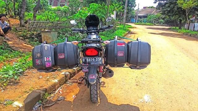 motor laki dengan double sidebox 2016 dari Jakarta