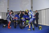 the 2016 Yamaha YZR-M1 revealed in Barcelona, Spanyol