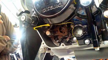 All New Satria F150 injeksi tahun 2016 dan daleman mesin alias cut engine (11)
