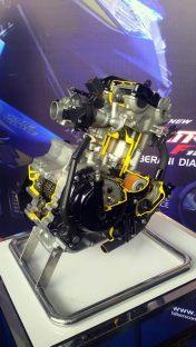 All New Satria F150 injeksi tahun 2016 dan daleman mesin alias cut engine (18)