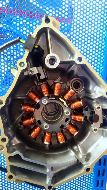 All New Satria F150 injeksi tahun 2016 dan daleman mesin alias cut engine (5)