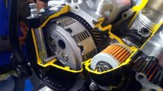 All New Satria F150 injeksi tahun 2016 dan daleman mesin alias cut engine (9)