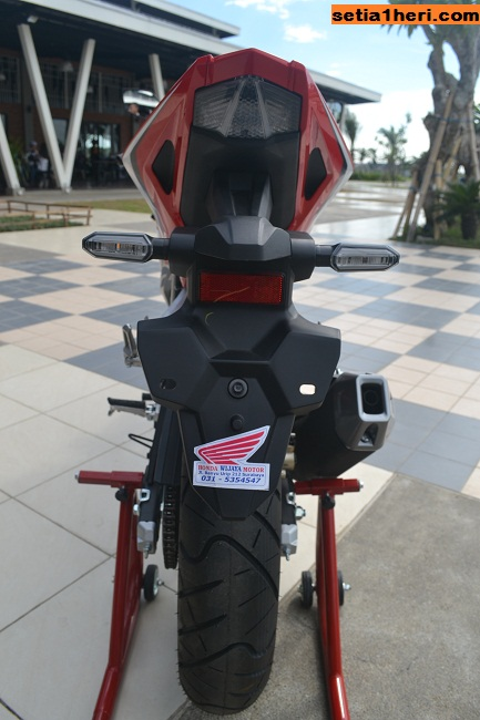 buritan honda all new cbr150r tahun 2016