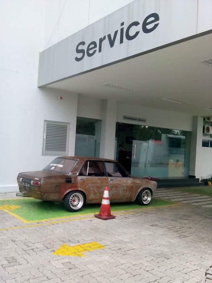 Datsun SR20gagal servis di bengkel resmi Datsun Nissan Salatiga