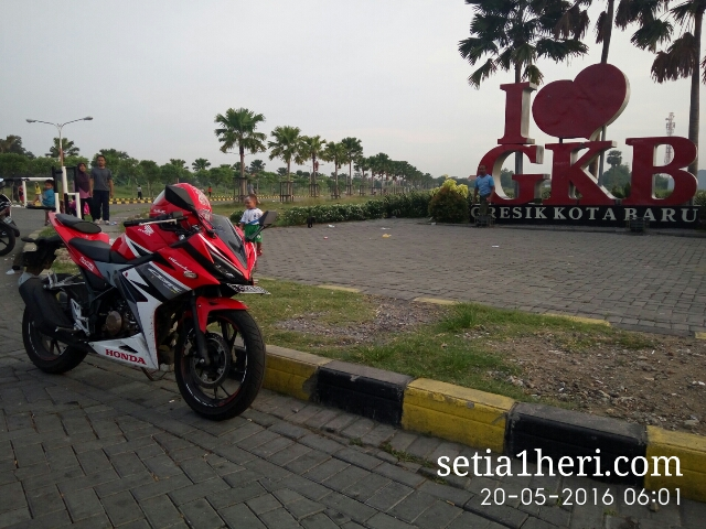 Honda All New CBR150R tahun 2016 dibuat riding harian~02