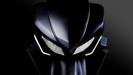 gambar depan motor listrik gesits
