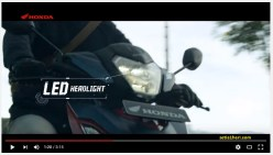 headlamp all new honda supra gtr 150 tahun 2016